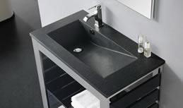 Waschtischplatte schiefer  Schiefer Waschtische - Individuelle Schiefer Waschtische